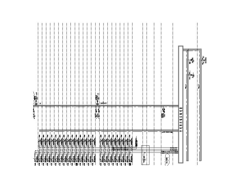 70年公寓专变配电竖向干线系统图