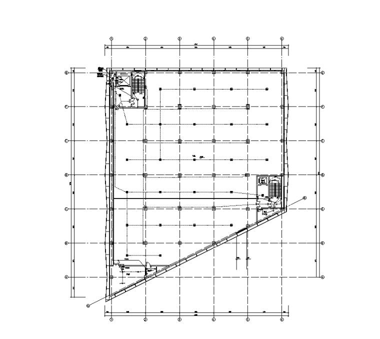 凭证库强电平面图