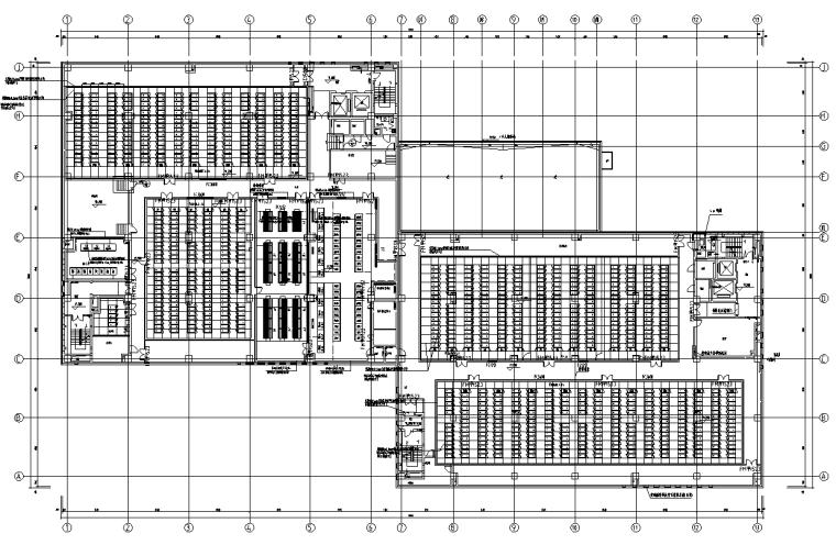 上海某科技公司云计算中心强弱电施工图
