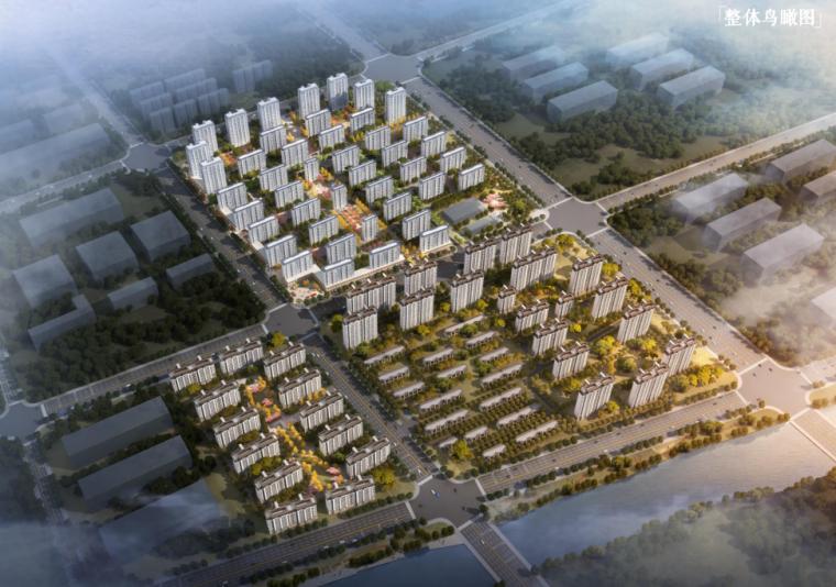 [山东]新中式风格住宅轻奢洋房+高层规划