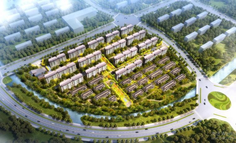 [江苏]新中式风格洋房住宅建筑方案文本