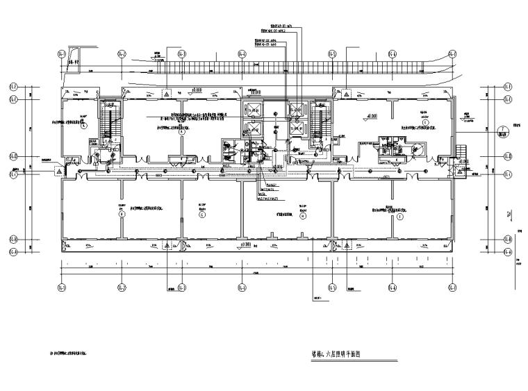 苏州办公塔楼及商业裙房电气施工图(审后)