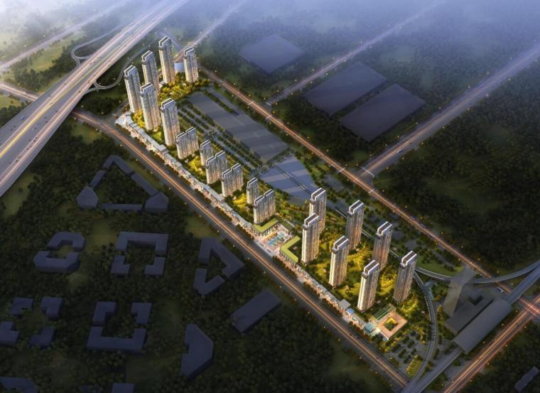 [湖北]现代风高层+超高层豪宅建筑方案文本