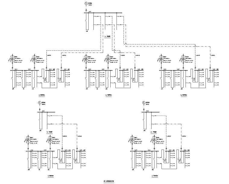 应急备用电源接线系统图