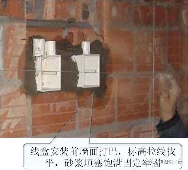 砌体墙内PVC管预埋施工工艺质量管控要点_5