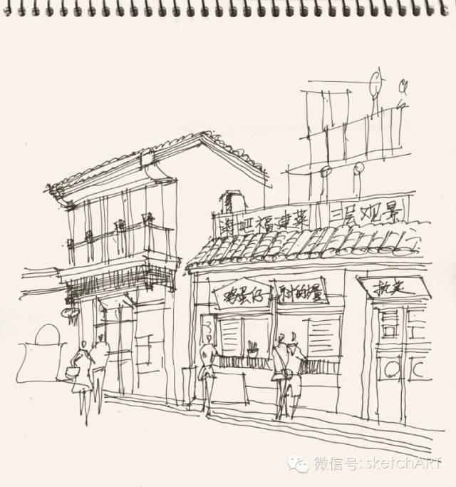 北京烟袋斜街写生_10