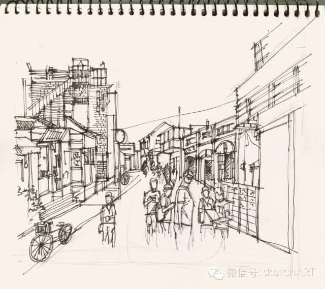 北京烟袋斜街写生_20