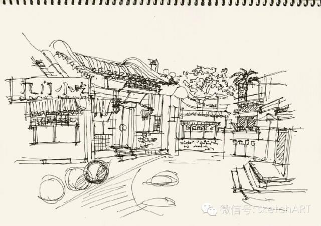 北京烟袋斜街写生_25