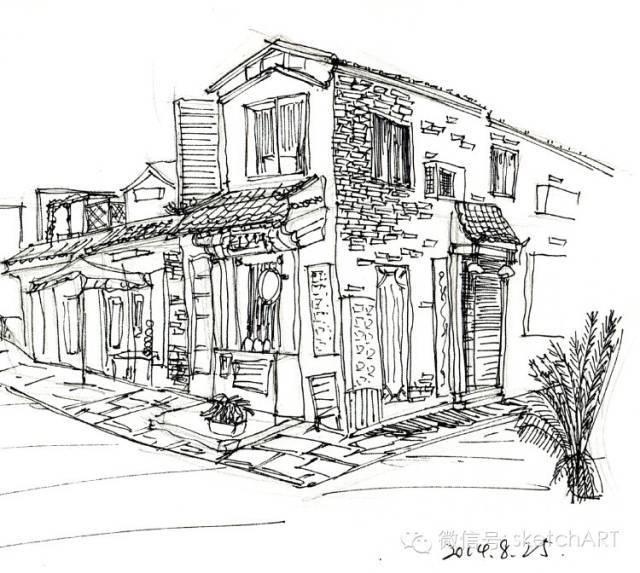 北京烟袋斜街写生_26