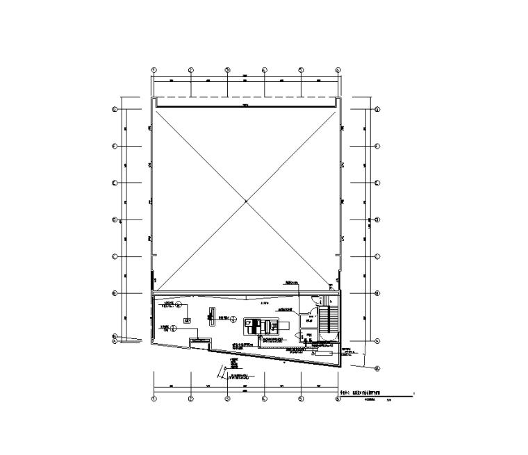 二层配电平面图