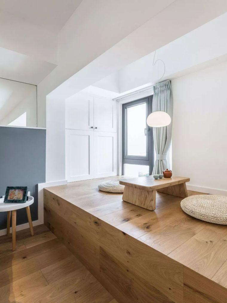 上海夫妇撬开地板、卧室悬空,60㎡变豪宅_18