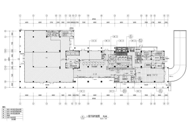 [江苏]邮政储蓄银行苏州分行办公室施工图