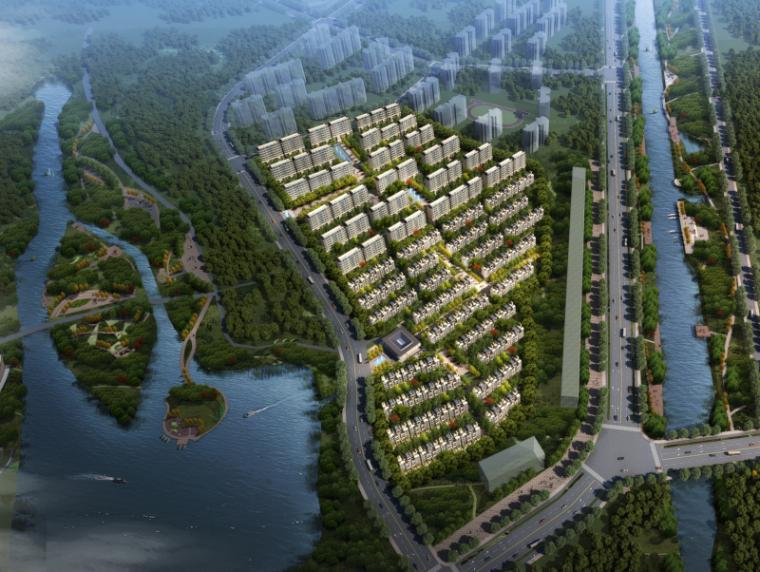 南京滨湖豪宅叠拼+洋房+示范区建筑方案文本