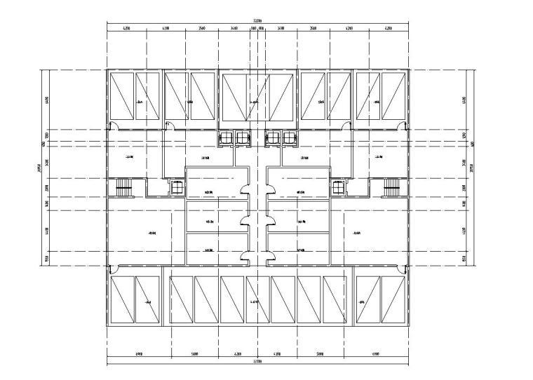 创新洋房户型平面图设计