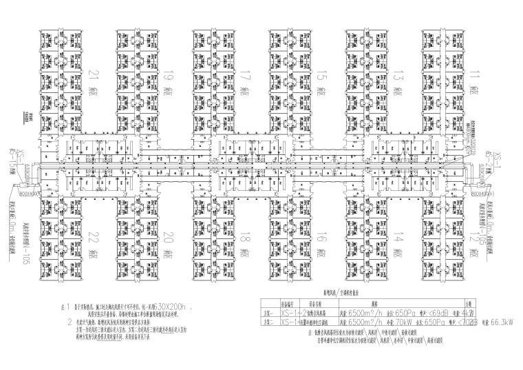 北京小汤山医院全套暖通施工图纸