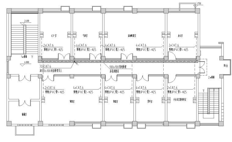 电话网络平面布置图