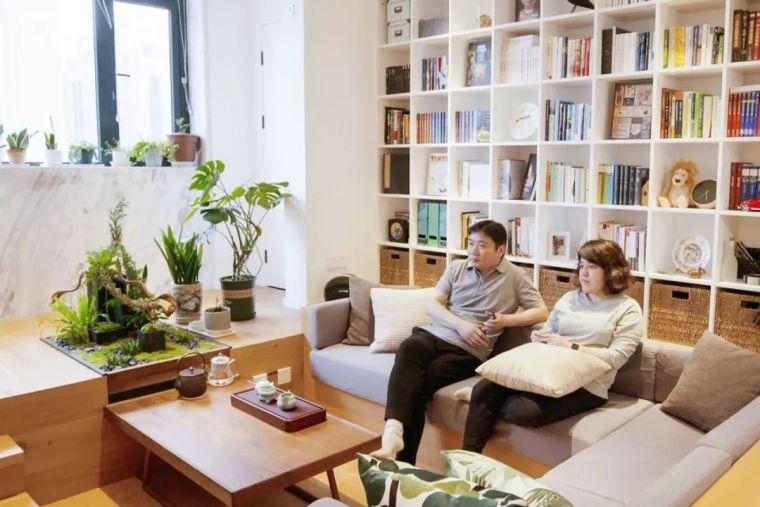 上海夫妇撬开地板、卧室悬空,60㎡变豪宅_1