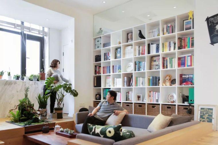 上海夫妇撬开地板、卧室悬空,60㎡变豪宅_3