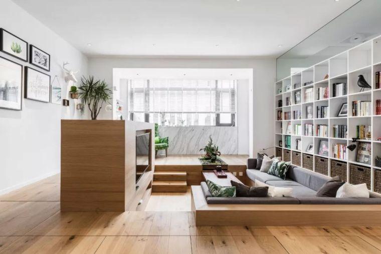 上海夫妇撬开地板、卧室悬空,60㎡变豪宅_4