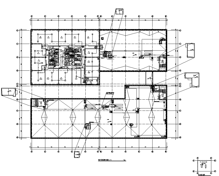 贵州物流产业园综合楼及配套机房电气施工图