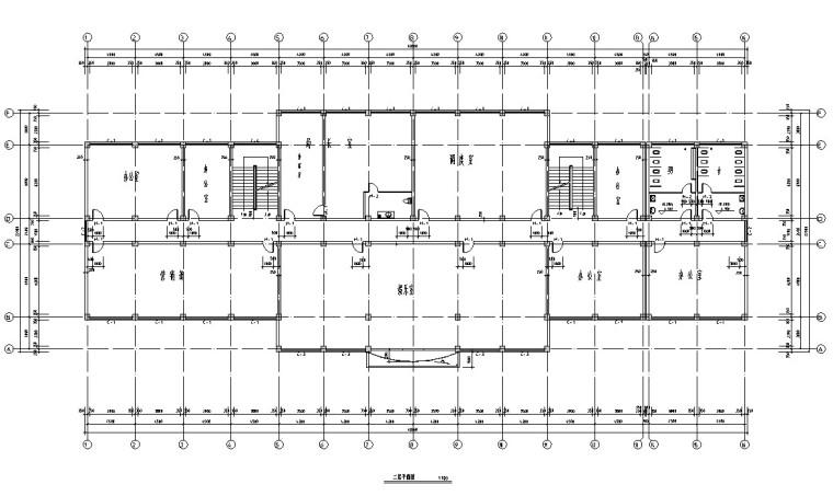 框架办公毕业设计(计算书、部分建筑等)