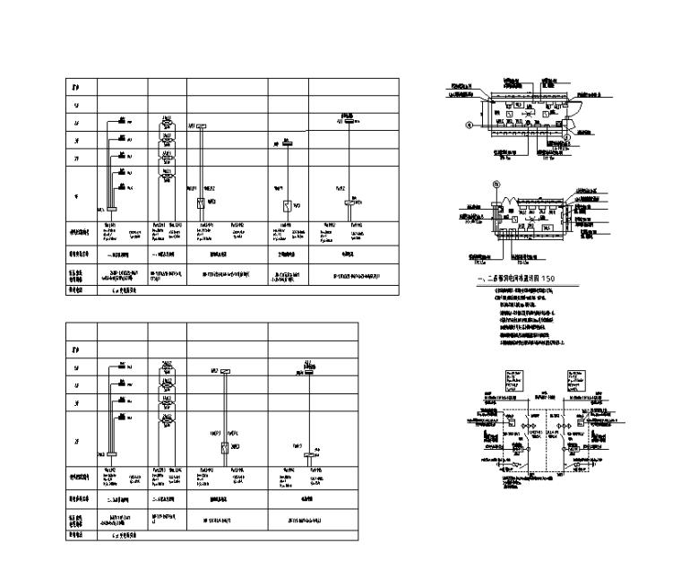 配电干线系统图