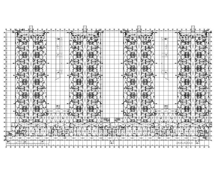 武汉市某神山医院给排水施工图