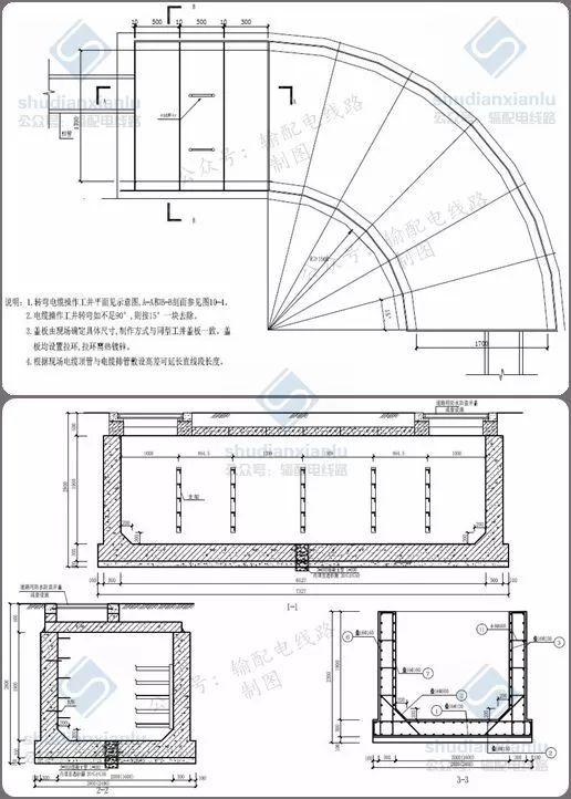 10kV电力电缆线路电缆沟、电缆井敷设要求_8