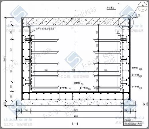 10kV电力电缆线路电缆沟、电缆井敷设要求_6