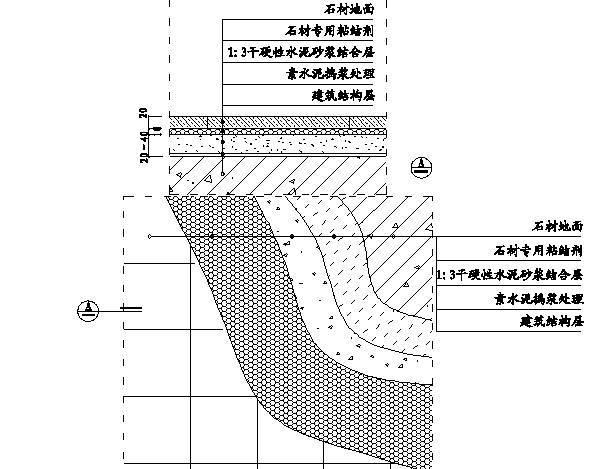 精装修工程细部节点构造施工示意图