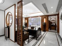 新中式风的居住空间