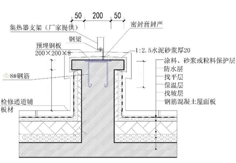 高层住宅楼屋面防水施工技术交底