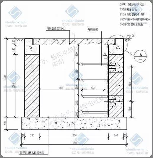 10kV电力电缆线路电缆沟、电缆井敷设要求_3