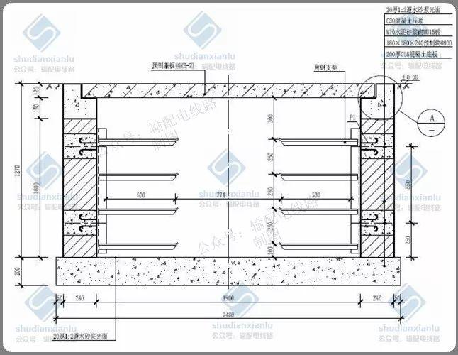 10kV电力电缆线路电缆沟、电缆井敷设要求_4
