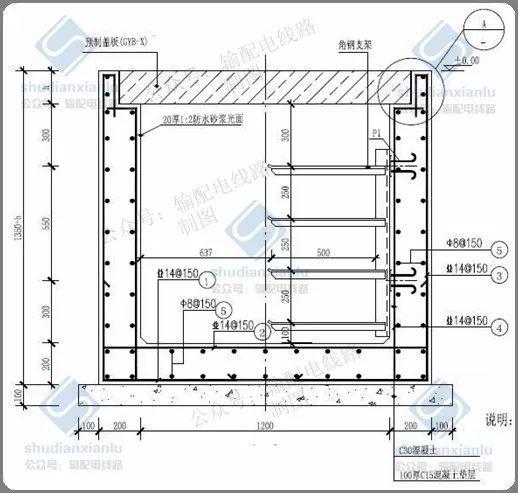10kV电力电缆线路电缆沟、电缆井敷设要求_5