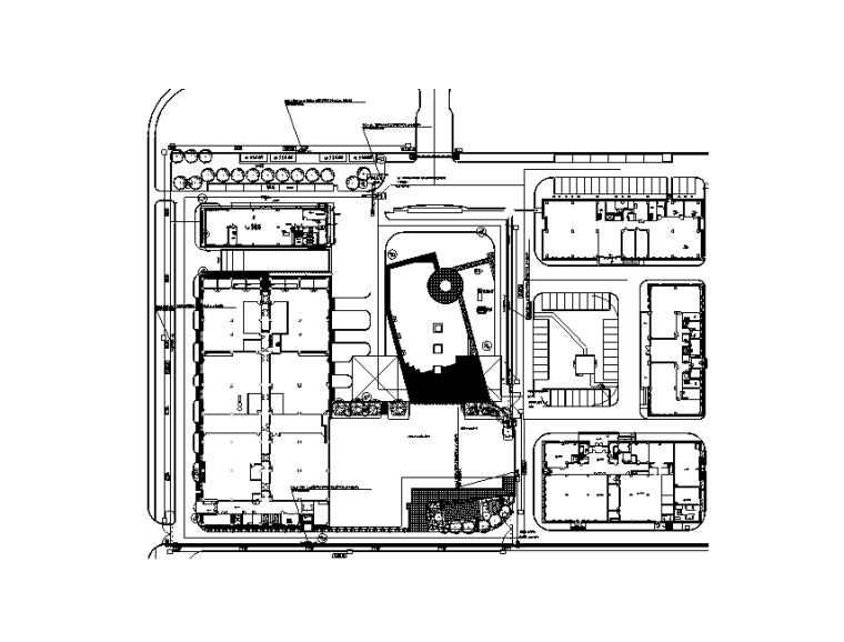 大连银行数据中心电气施工图