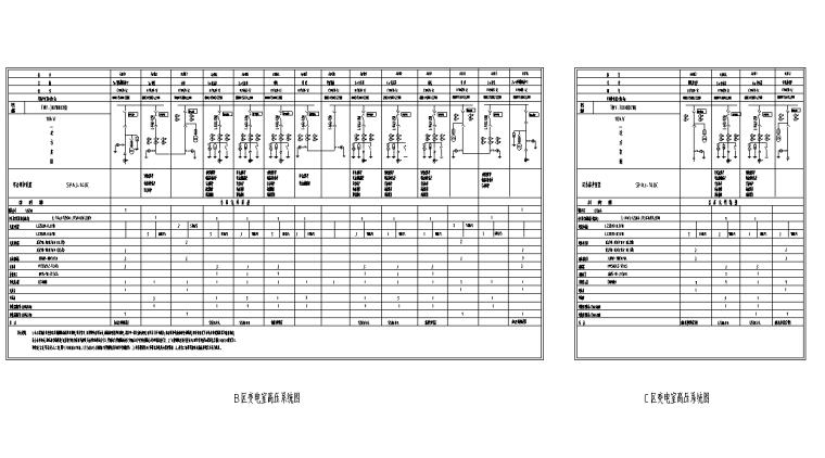 变电室高压系统图