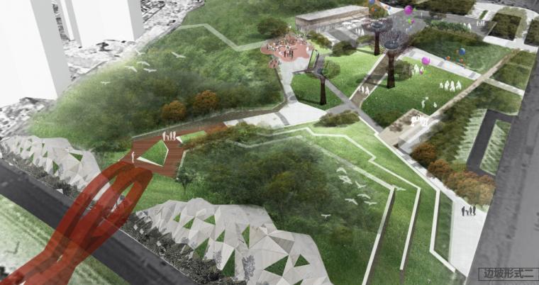 [长沙]梅溪湖梅岭公园景观提升改造_奥雅
