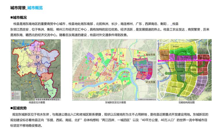 [湖南]山体公园-攸县后山绿地景观概念设计-2-攸县后山知名地产-城市概览