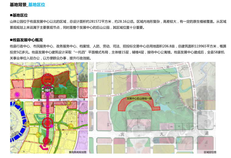 [湖南]山体公园-攸县后山绿地景观概念设计-3-攸县后山知名地产-基地区位