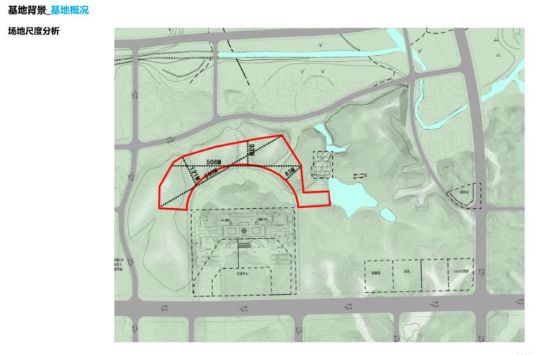 [湖南]山体公园-攸县后山绿地景观概念设计-4-攸县后山知名地产-基地概况