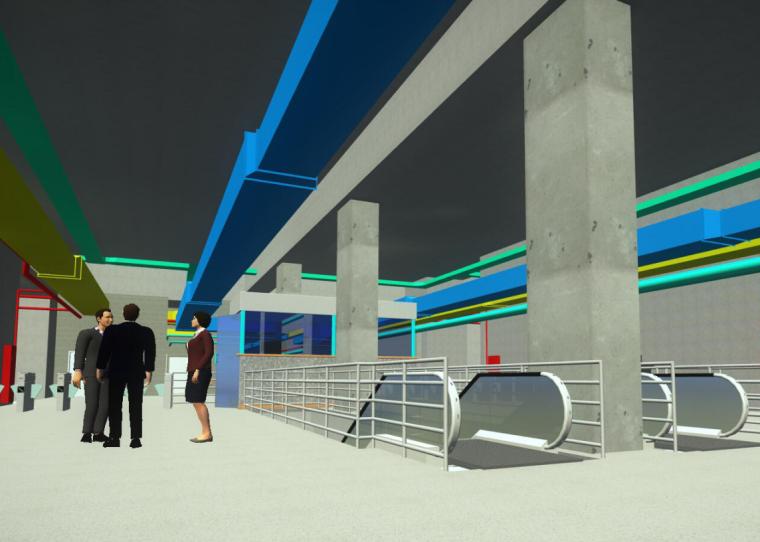 基于Bentley平台轨道交通工程BIM应用分享-2