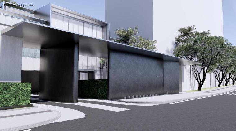 [重庆]新照母山现代风格住宅景观方案设计