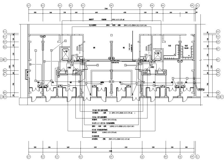 吉林二类高层住宅小区水、电专业施工图