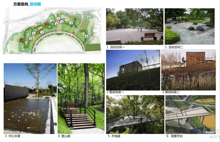 [湖南]山体公园-攸县后山绿地景观概念设计-12-攸县后山知名地产-方案意向图