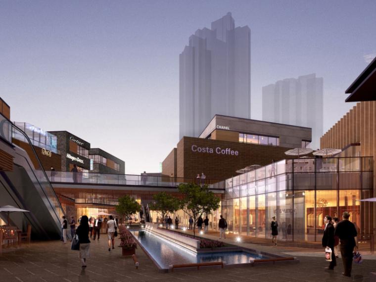 浦东新区某商业项目规划及建筑方案设计文本