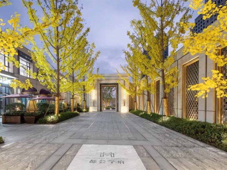 南京金地新力·云靖花园示范区景观