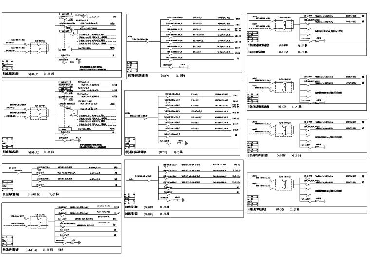 配电箱系统图