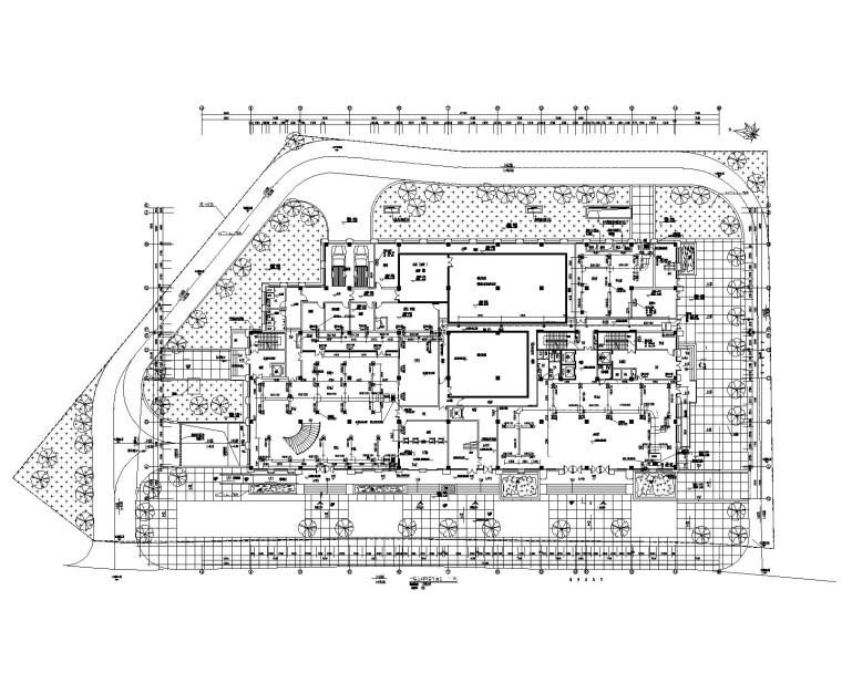 贵州省某大型办公楼机电设计全套施工图