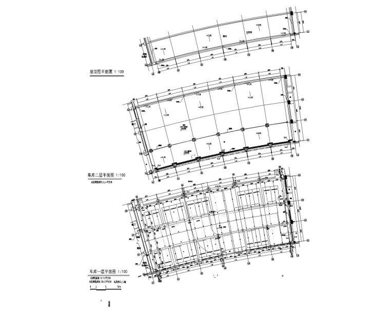 车库平面图